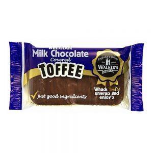 UK Walker's Milk Chocolate Toffee Andy Pack 100g