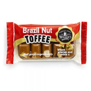Walker's Brazil Nut Toffee Andy Pack 100g