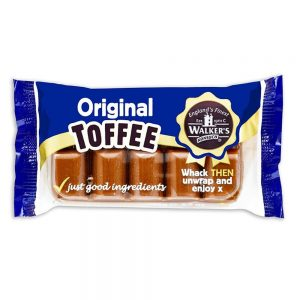Walker's Original Toffee Slab Andy Pack 100g